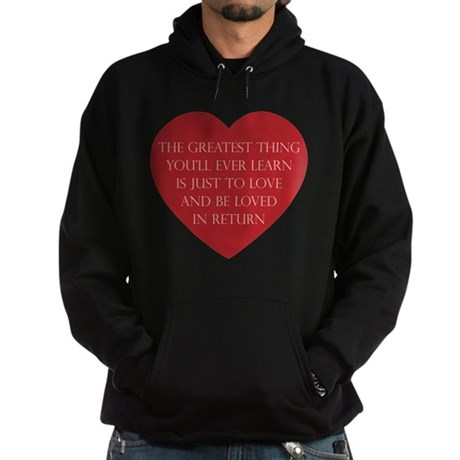 Love and be Loved Men's Dark Hoodie