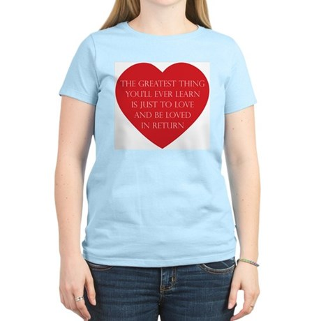 Love and be Loved Women's Light T-Shirt