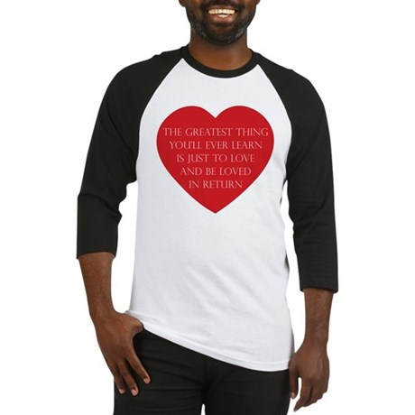 Love and be Loved Men's Baseball Jersey