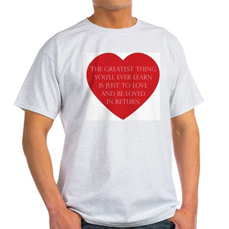 Love and be Loved Men's Light T-Shirt