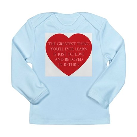 Love and be Loved Long Sleeve Infant T-Shirt