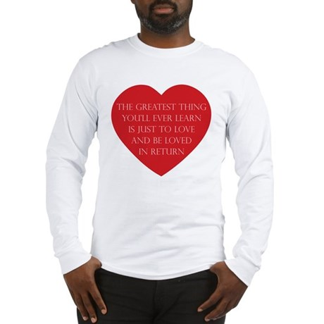 Love and be Loved Men's Long Sleeve T-Shirt