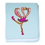Flamingo Infant Blanket
