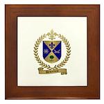 DESJARDINS Family Crest Framed Tile