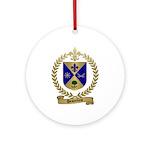 DESJARDINS Family Crest Ornament (Round)