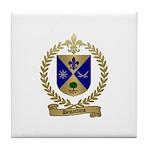DESJARDINS Family Crest Tile Coaster