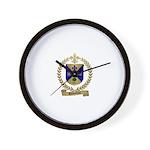 DESJARDINS Family Crest Wall Clock