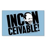 Inconceivable Princess Bride Sticker (Rectangle)