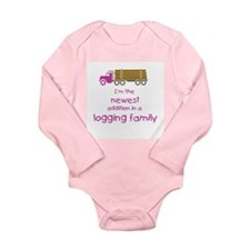 New Addition to a Logging Fam Long Sleeve Infant B