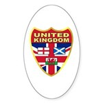 UK Badge Sticker (Oval 10 pk)