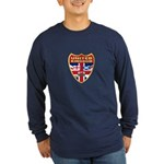 UK Badge Long Sleeve Dark T-Shirt