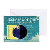 Atheist christmas cards Greeting Cards (10 Pack)