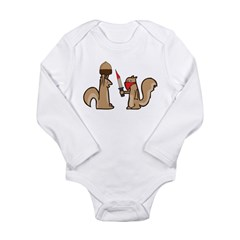 Nut Thief Long Sleeve Infant Bodysuit