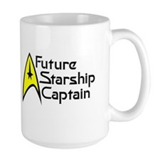 Future Starship Captain Mug