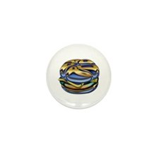 Glamburger mini button (10 pack)