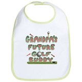 Grandpa's Future golf buddy Bib