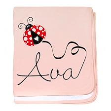 Ladybug Ava Infant Blanket