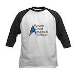 Future Chief Medical Officer Kids Baseball Jersey