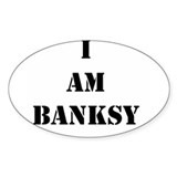 I Am Banksy Decal