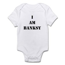 I Am Banksy Infant Bodysuit