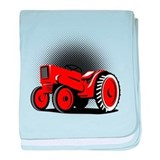 vintage farm tractor Infant Blanket