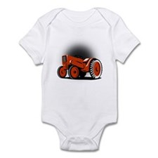 vintage farm tractor Infant Bodysuit