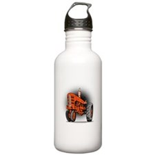 vintage farm tractor Water Bottle