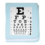 Eye Test Infant Blanket
