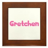 """Gretchen"" Framed Tile"