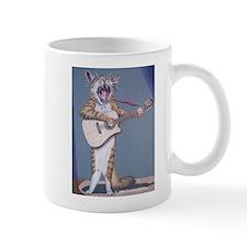 Folk Singer/Guitar Player Cat Mug