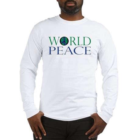 World Peace Men's Long Sleeve T-Shirt