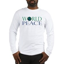 World Peace Long Sleeve T-Shirt