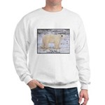 Polar Bear Photo Sweatshirt