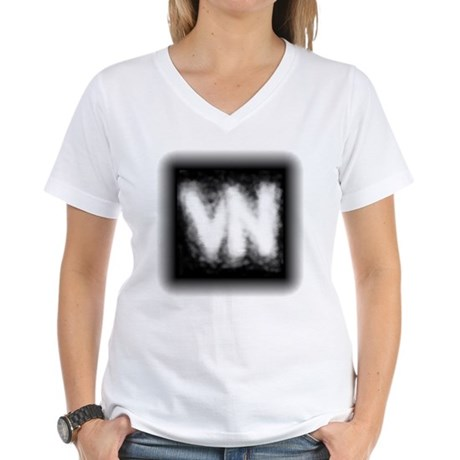 VN Logo Women's V-Neck T-Shirt
