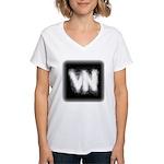 VN Logo Women's V-Neck T-Shirt