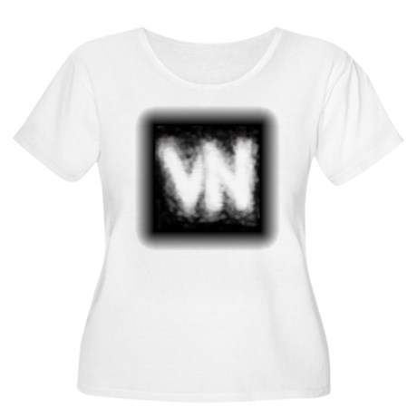 VN Logo Women's Plus Size Scoop Neck T-Shirt