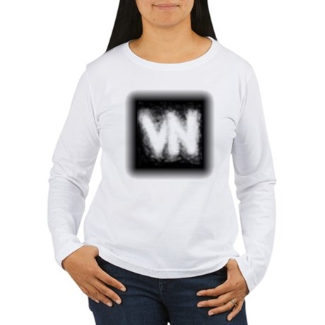 VN Logo Women's Long Sleeve T-Shirt