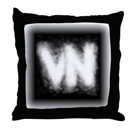 VN Logo Throw Pillow