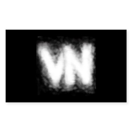 VN Logo Sticker (Rectangle)