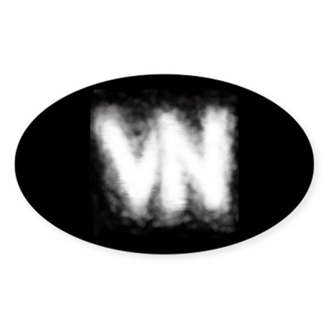 VN Logo Sticker (Oval)