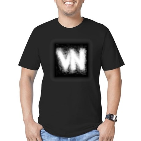 VN Logo Men's Fitted T-Shirt (dark)
