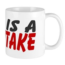 God Is A Mythtake Small 11oz Mug