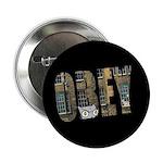 """Obey Foamy 2.25"""" Button"""