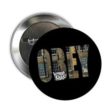 "Obey Foamy 2.25"" Button"
