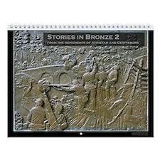 Stories in Bronze 2 Civil War Wall Calendar
