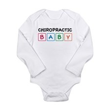 Chiro Baby Blocks Long Sleeve Infant Bodysuit