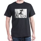 Oil Man Black T-Shirt