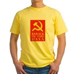 Barack Socialism Yellow T-Shirt