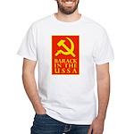 Barack Socialism White T-Shirt