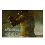 Goya Colossus Fantasy Quote Postcards (Package of 